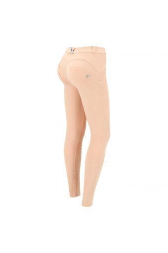 Pantalon push up WR.UP® coupe skinny effet vieilli