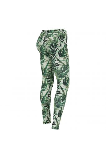 WR.UP® trousers in breathable jungle print fabric
