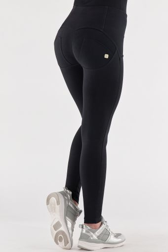 High-waist cotton WR.UP® shaping trousers