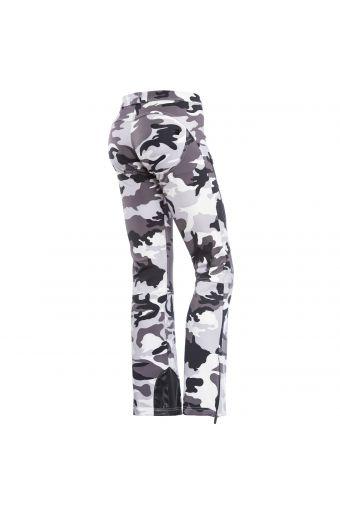 Pantalon WR.UP® coupe skinny de la ligne SNOW, avec imprimé camouflage