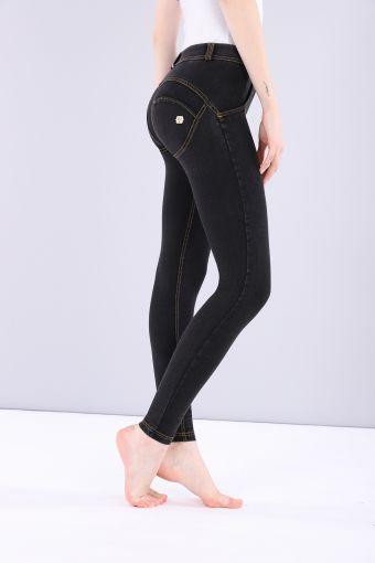 Pantalon WR.UP® super skinny taille et longueur classiques en jersey denim foncé