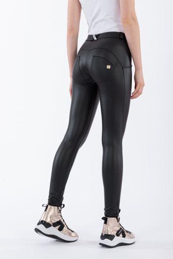 Pantalon WR.UP® super skinny taille et longueur classiques en simili-cuir