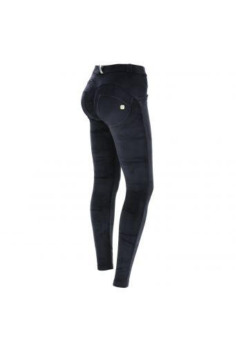 Pantalon push up WR.UP ® super skinny, en chenille