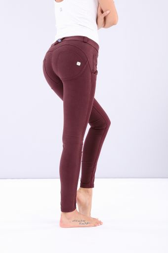 Sculpting WR.UP® super skinny stretch cotton trousers