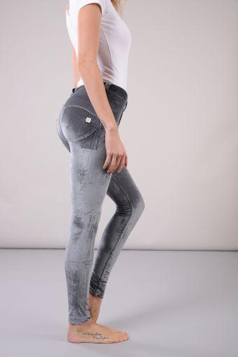 WR.UP® largo superskinny con talle regular en chenilla elástica