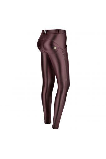 Metallic regular-rise WR.UP® super-skinny trousers