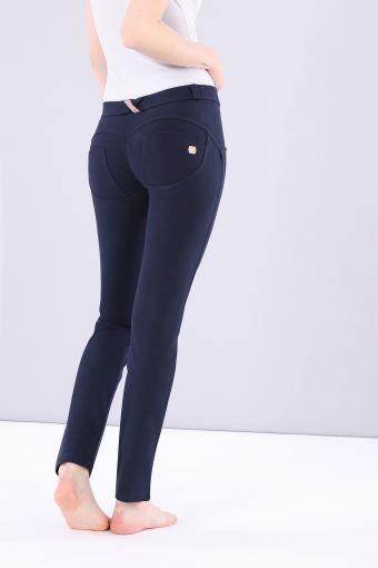Pantalon WR.UP® taille et longueur classiques, droit dans le bas, en coton élastique