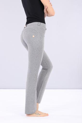 Pantalón WR.UP® de talle y largo estándar y bajo recto de algodón elástico