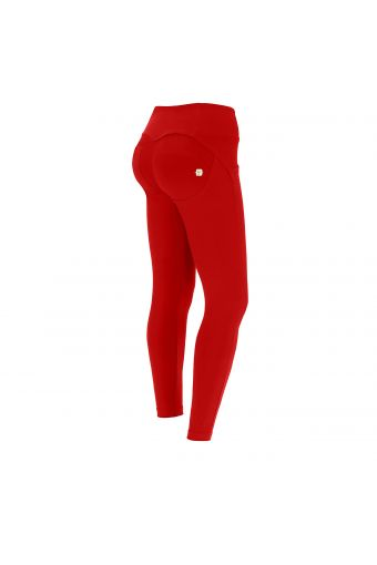 Shaping ankle-length mid-rise WR.UP® super skinny trousers