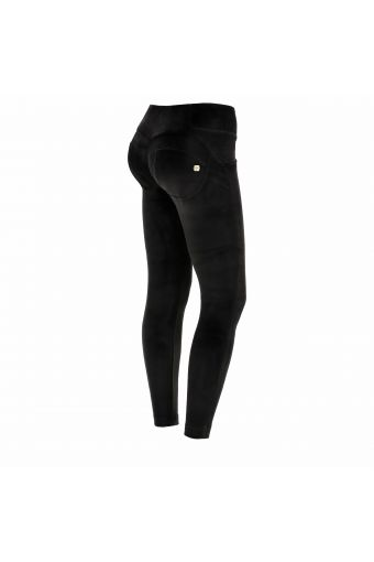 Ankle-length super skinny WR.UP® sculpting trousers in chenille