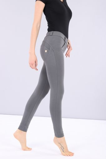 WR.UP® regular-rise super skinny ankle-length stretch cotton trousers
