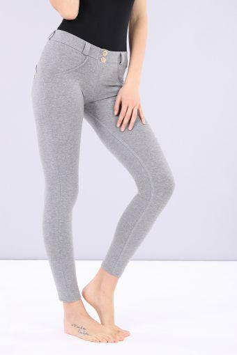Pantalón WR.UP® 7/8 superskinny de talle regular de algodón elástico