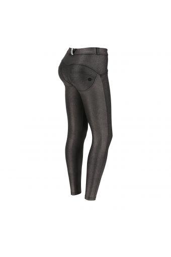 Pantalón push up WR.UP® 7/8 superskinny metalizado