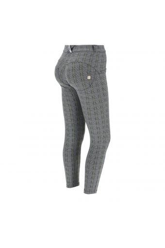 Super-skinny WR.UP® pants in Glen plaid