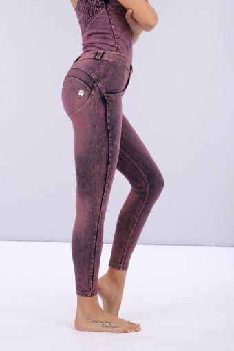 Jeans push up WR.UP® superskinny en denim élastique coloré