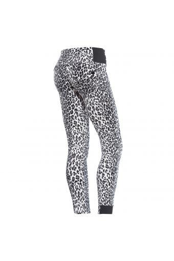 Pantalon WR.UP® de la ligne SNOW, coupe skinny et taille haute, avec imprimé animal