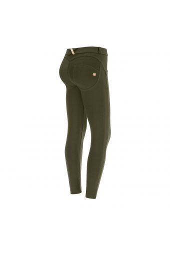 Pantalón WR.UP® cintura baja en algodón elástico