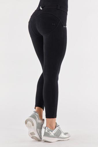 Pantalón push up WR.UP® 7/8 con strass en los vivos de los bolsillos