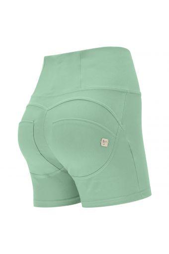Shorts de cintura alta WR.UP® moldeadores en tejido de punto drill