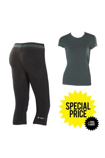 WR.UP® SHAPING EFFECT - Tiefe Taille - KORSARENHOSE + T-Shirt ALS GESCHENK