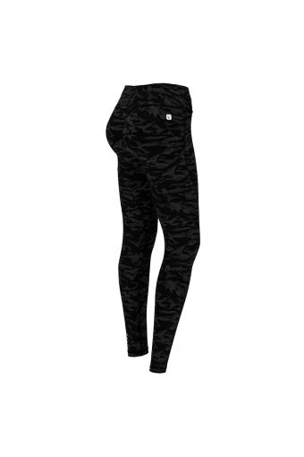 Push up-Fitness-Leggings der Linie WR.UP® Sport mit Muster