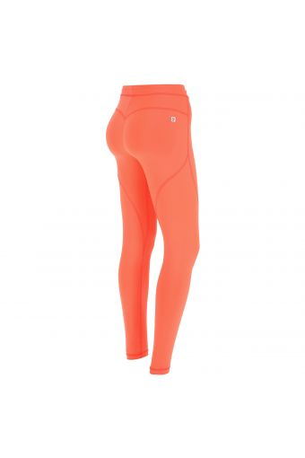 Printed regular-rise WR.UP® Active skinny trousers in D.I.W.O.® fabric