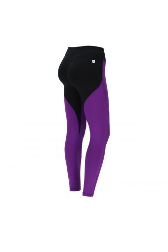 Colour-block shaping WR.UP® fitness leggings in D.I.W.O.® fabric
