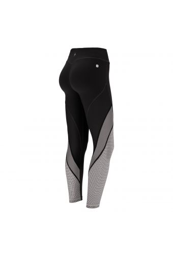 Ankle-length WR.UP® leggings ideal for yoga in bio-based fabric 100% Made in Italy