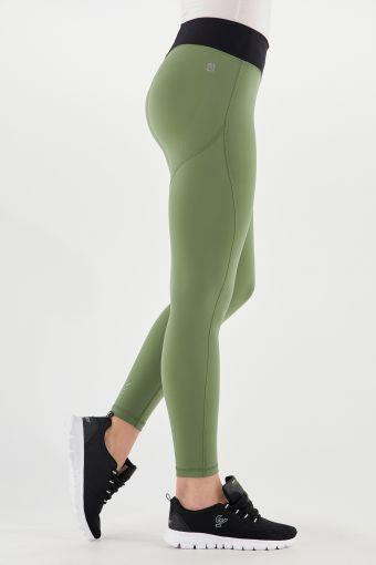 Leggings WR.UP® Sport 7/8 tessuto bioattivo verde military