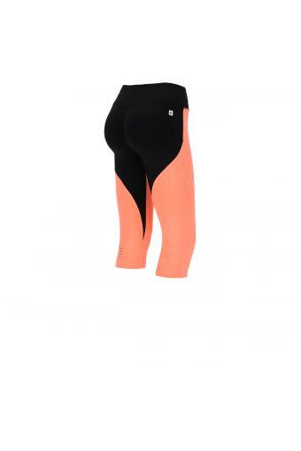 Corsair-length two-tone sculpting WR.UP® fitness leggings