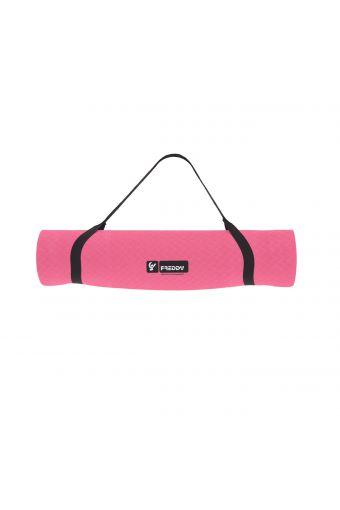 PVC-Yogamatte mit Schulterriemen