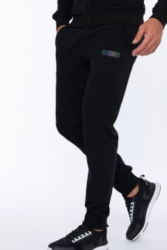 Slim-fit joggers with a drawstring and cuffs