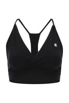 Soutien-gorge de yoga pour femme avec bretelles croisées au dos : 100% Made in Italy