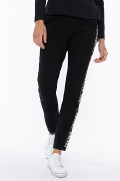 Trousers with sequin FREDDY bands