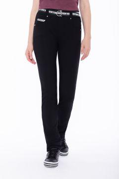 Slim-fit straight leg cotton N.O.W.® Pants trousers