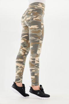 N.O.W.® Pants Yoga mit Camouflagemuster