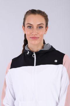 Felpa con zip e cappuccio yoga donna - 100% Made in Italy