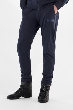 Pantaloni sportivi slim fit con dettagli in tono colore