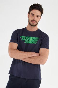 Stretch-T-Shirt mit Aufdruck FREDDY SPORT BOX