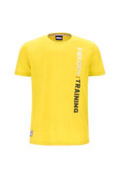 Camiseta ligera con estampado vertical