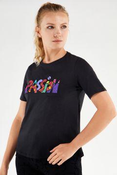 T-shirt avec pièces décoratives PASSION, collection Romero Britto