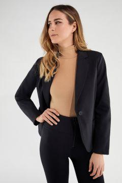 Women's plain colour blazer