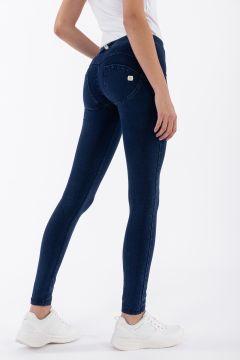 WR.UP® regular-rise skinny-fit trousers in dark denim