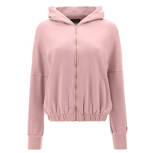 Cropped-Sweatshirt mit Kapuze