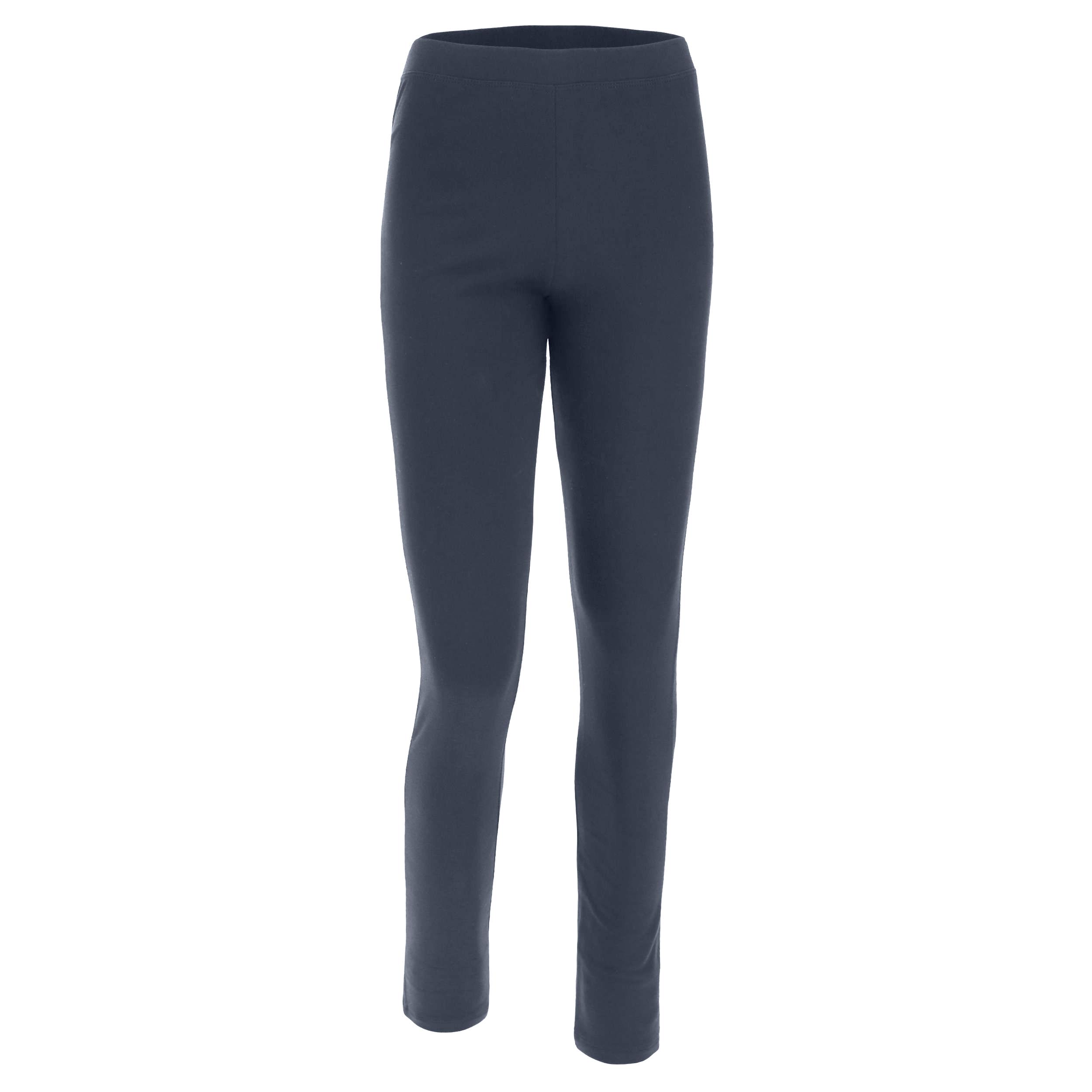 Pantaloni in felpa fondo dritto con carré a cuore