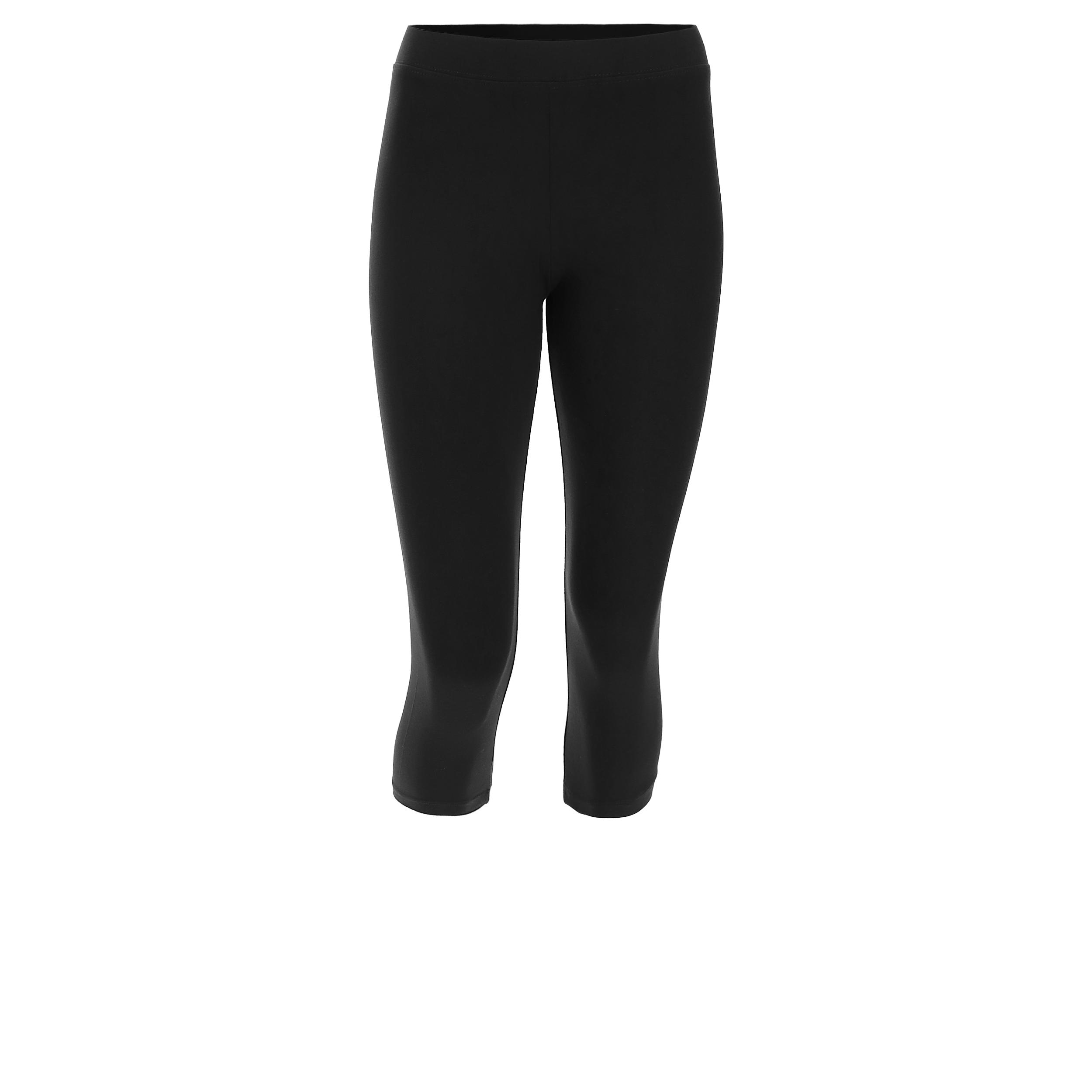 Leggings sportivi corsaro monocolore